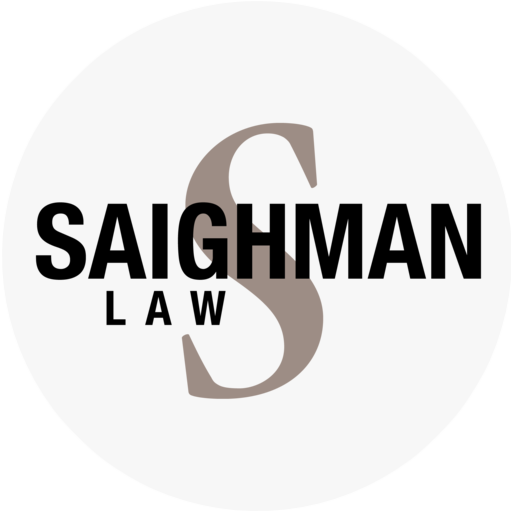 saighman law gray circle logo